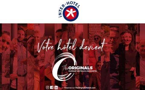 A new brand for Hotel Paix republique : The Originals City Hotel Paris Paix Republique